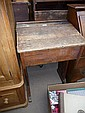 A 19th century school desk