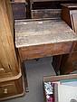 A 19th century school desk