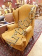 Georgian style wingback armchair