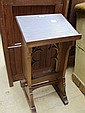 An early 20th century Gothic oak lectern
