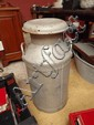 A large mid 20thC milk churn