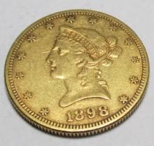 1898 s $ 10 Gold Liberty