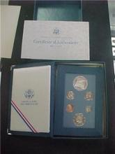 1987 US Prestige Proof Set