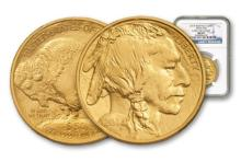 2014 MS 69 PCGS Gold 1 Oz. Buffalo $50