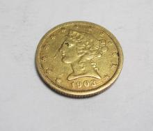 1903 S BETTER DATE $ 5 Gold Liberty Coin