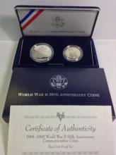 WWII 50th Anniversary Commemorative