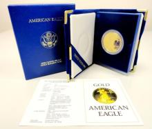 1986 Gold Eagle Proof in Mint Case 1st Year