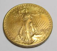 1924 $ 20 Gold Saint Gauden's Double Eagle