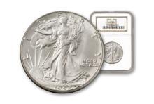 1942 MS 65 NGC Walking Liberty Half Dollar