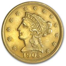 $2.5 Liberty Head Gold Coin- Random Date (1)