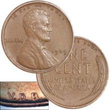 1909 VDB Key Date Lincioln Wheat Cent