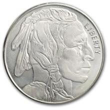 1 Troy oz. Silver Buffalo Design Bullion