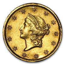 $1 Civil War Era Type I Gold Coin - Random Date