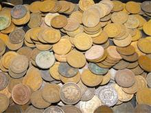 Lot of 200 Indian Head Cents - Circulated