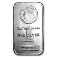 1 oz Morgan Design Silver Bar