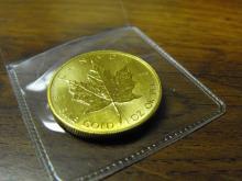 1 oz. Gold - Maple Leaf - Random Year .9999 Pure