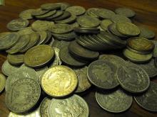 (20) Morgan Silver Dollars - Random
