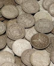 (20) Random Date Morgan Silver Dollars