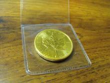 1 oz. Gold Maple Leaf Bullion - Random