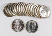 (20) BU Kennedy Half Dollars 90% Silver
