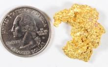 8.98 Gram Natural Alluvial Gold Nugget -