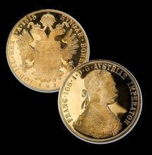 Austrian Proof 4 Ducat Gold Coin