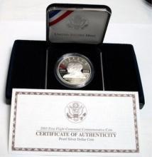 2003 First Flight Silver Commemorative