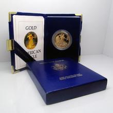 1 oz. Gold Eagle PROOF - Random Date in MInt Box