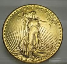 1927 $ 20 Gold Saint Gauden's High Grade