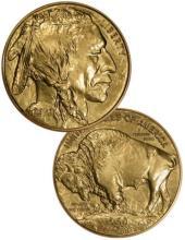 24k Gold Buffalo 1 oz Bullion Coin- Random