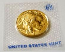 Random Date Gold Buffalo 1 oz. Coin