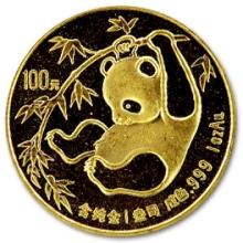Collectible Random Date 1 oz Gold Panda -