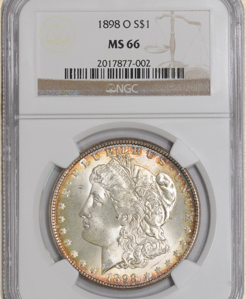1898-O Morgan $ MS66 NGC