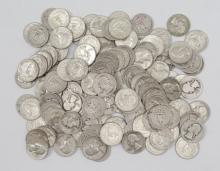 (100) Washington Quarters - 90% Silver Mix