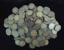 (200) Indian Head Cents - Mix Grades- Dates