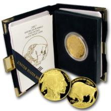 2007 W US Gold Buffalo Proof- Mint Case