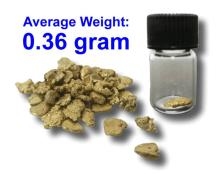 .36 Gram Gold Nugget PURE GOLD PLACER NUGGET