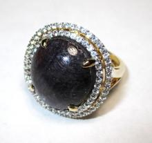$3,150 Ruby and Sapphire Ring