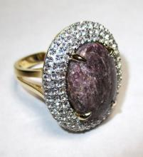 $3,025 Ruby and Sapphire Ring