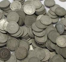 Lot of 100 V Liberty Nickels-