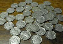 Nice Circulated Buffalo Nickel Roll