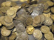 Lot of 100 Buffalo Nickels