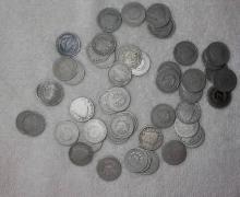 Lot of 50 V Liberty Nickels- Circulated