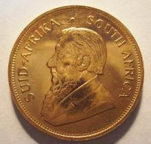 1 oz. Gold Krugerrand - Gold Bullion -