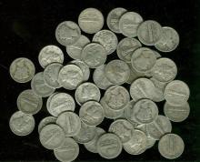 Lot of 50 Mercury Dimes 90% Silver