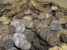 Lot of 300 Mercury Dimes - 90% Silver Mixed