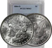1884 o MS 63 PCGS Morgan Dollar