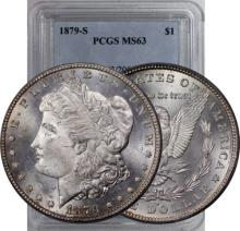 1879 s MS 63 PCGS Morgan Dollar