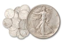 Lot of 20 Walking Liberty Half Dollars