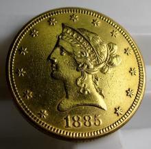 1885 s $10 Gold Liberty Eagle